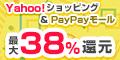 【高還元】Yahoo!ショッピング & PayPayモール